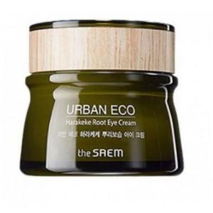 Крем с экстрактом корня новозеландского льна для кожи век THE SAEM Urban Eco Harakeke Root Eye Cream 30мл