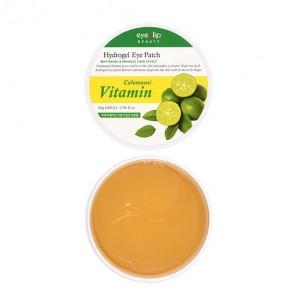 Витаминные гидрогелевые патчи для глаз с экстрактом каламанси EYENLIP Calamansi Vitamin Hydrogel Eye Patch 60шт
