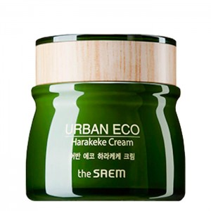 Ухаживающий крем с экстрактом новозеландского льна THE SAEM Urban Eco Harakeke Cream 60мл