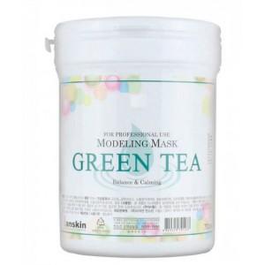 Альгинатная маска Anskin Modeling Mask Green Tea  240гр
