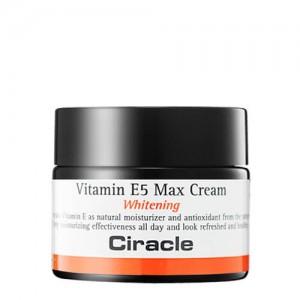 Крем с витамином E CIRACLE Vitamin E5 Max Cream Whitening 50мл