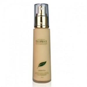 Тональная основа под макияж с экстрактом зеленого чая DEOPROCE Premium Vita Shining Foundation 50мл