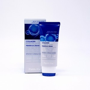 Увлажняющий ББ-крем с коллагеном FARMSTAY Collagen Water Full Moist Primer BB Cream SPF50 PA+++ 50мл
