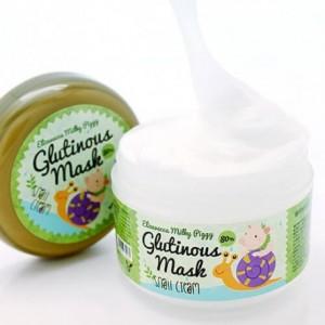 Крем-маска с муцином улитки ELIZAVECCA Milky Piggy Glutinous Mask 80% Snail Cream 100мл