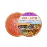 Успокаивающий гель-щербет с коллагеном для лица и тела EYENLIP Collagen Sherbet Soothing Gel Face & Body 300мл
