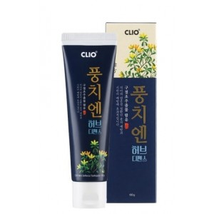 Зубная паста с вытяжкой из хризантемы сибирской CLIO Herb Deffence Style Toothpaste 100гр