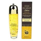 Интенсивная лифтинговая сыворотка с экстрактом улитки и золотом FARMSTAY Gold Escargot Noblesse Intensive Lifting Essence 150мл