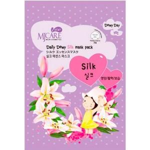 Маска тканевая с аминокислотами шелка MJ Care Daily Dewy Silk mask