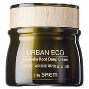 Глубоко увлажняющий крем с экстрактом корня новозеландского льна THE SAEM Urban Eco Harakeke Root Deep Cream 60мл