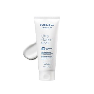 Увлажняющий крем для умывания с гиалуроновой кислотой Missha Super Aqua Ultra Hyalron Foaming Cream 200мл