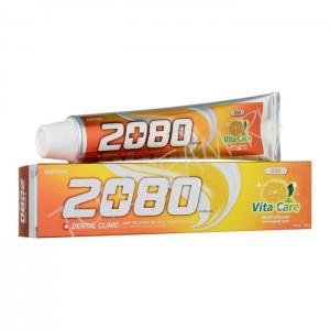 Зубная паста Витаминный уход Aekyung Dental Clinic 2080 Vita Care Coenzyme Q10 Toothpaste 120г