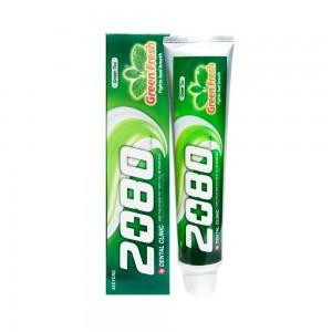 """Зубная паста """"Зеленая свежесть"""" с Зеленым чаем Aekyung Dental Clinic 2080 Green Fresh 120г"""