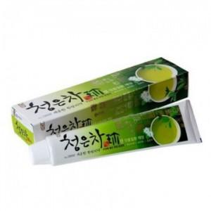 Зубная паста Восточный чай Aekyung Dental Clinic 2080 Cheong-en-cha Jin Toothpaste 120г