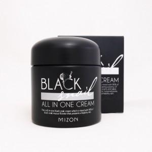 Крем премиум-класса с экстрактом черной улитки MIZON Black Snail All In One Cream 75мл
