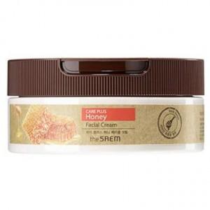 Медовый крем для кожи лица The Saem Care Plus Honey Facial Cream 200мл