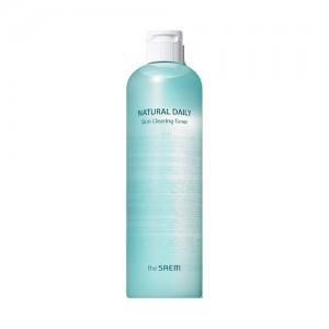 Ежедневный отшелушивающий и очищающий тонер с PHA-кислотами The Saem Natural Daily Skin Clearing Toner 500мл