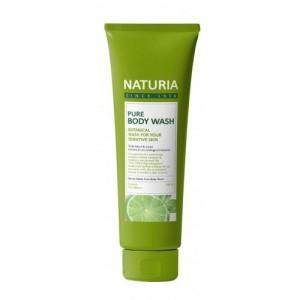 Гель для душа с освежающим ароматом мяты, эвкалипта и лайма EVAS Naturia Pure Body Wash ld Mint & Lime 100 мл