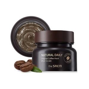 Кофейная маска-скраб для проблемной кожи The Saem Natural Daily Original Coffee Mask 100мл