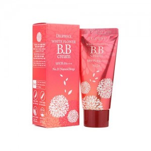 ББ крем с экстрактами белых цветов SPF35 PA+++ DEOPROCE White Flower BB Cream SPF35 PA+++ 30мл