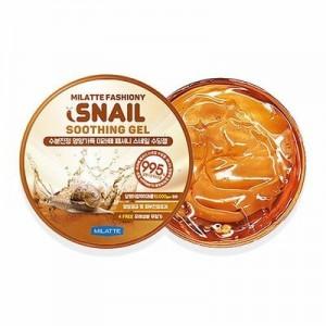 Многофункциональный гель с муцином улитки MILATTE Fashiony 100% Snail Soothing Gel 300мл