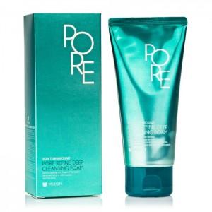 Пенка для умывания кожи с расширенными порами MIZON Pore Refine Deep Cleansing Foam