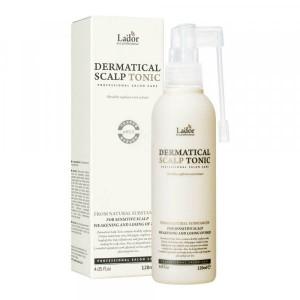 Оздоравливающий тоник для кожи головы и волос LADOR Dermatical Scalp Tonic 120мл