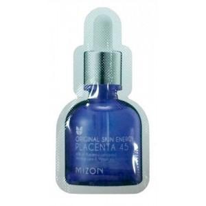 Омолаживающая плацентарная сыворотка 45% Mizon Original Skin Energy Placenta 45 пробник