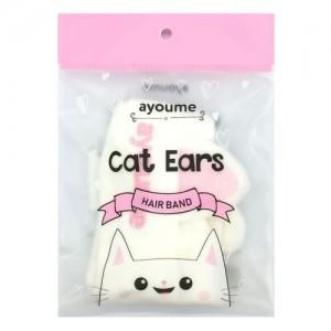Повязка для волос Кошачьи ушки AYOUME Hair Band Cat Ears