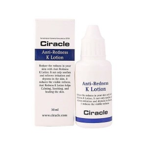 Тонер против покраснений кожи CIRACLE Anti-Redness K Solution 30мл