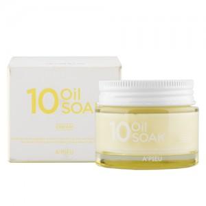 Интенсивный крем на основе 10 натуральных масел A'PIEU 10 Oil Soak Cream 50мл