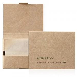 Матирующие салфетки Innisfree Natural Oil Control Paper 50шт