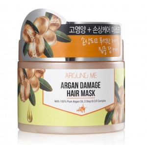 Маска с аргановым маслом для поврежденных волос AROUND ME Argan Damage Hair Mask 300мл