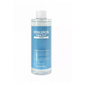Тонер увлажняющий гиалуроновый SECRET KEY Hyaluron Aqua Soft Toner 500мл