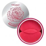 Гидрогелевые патчи с экстрактом розы и красного вина Trimay Rose Wine Brilliant Brightening Eye Patch 90шт