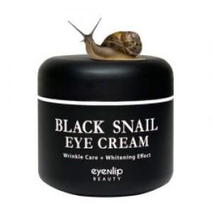 Крем для кожи вокруг глаз с муцином черной улитки EYENLIP Black Snail Eye Cream 50мл
