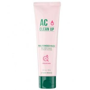 Маска с розовой глиной для проблемной кожи ETUDE HOUSE AC Clean Up Pink Powder Mask 100мл