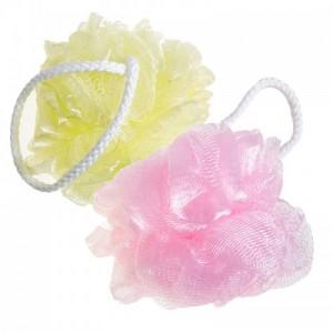 Мочалка для душа SUNG BO CLEAMY Clean & Beauty Flower Ball Rose Shower Ball