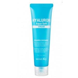 Крем увлажняющий с гиалуроновой кислотой SECRET KEY Hyaluron Aqua Soft Cream 70 мл