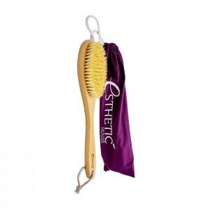 Дренажная щетка для сухого массажа из дерева с натуральной щетиной Esthetic House Dry Massage Body Brush