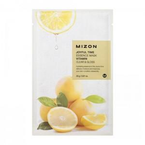 Тканевая маска для лица с витамином C Mizon Joyful Time Essence Mask Vitamin C
