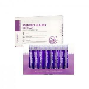 Восстанавливающий филлер для волос с пантенолом FARMSTAY Derma Сube Panthenol Healing Hair Filler
