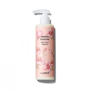 Крем для рук с экстрактом магнолии THE SAEM Garden Pleasure Hand Cream Magnolia 250мл