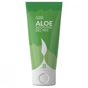 Гель универсальный с экстрактом алоэ J:ON Face & Body Aloe Soothing Gel 98% 200мл