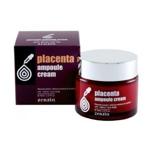 Плацентарный крем для лица ZENZIA Placenta Ampoule Cream 70мл