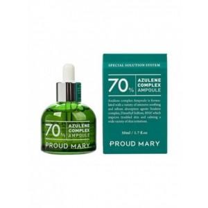Ампульная сыворотка с азуленом для чувствительной кожи Proud Mary Azulene Ampoule 50мл