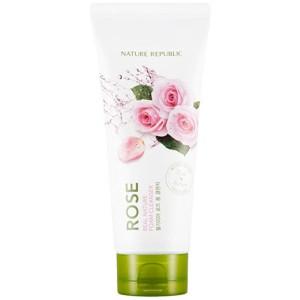Пенка для умывания с экстрактом розы Nature Republic Real Nature Rose Foam Cleanser