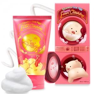 Пенка для умывания ELIZAVECCA Clean Piggy Pink Energy Foam Cleansing 120мл