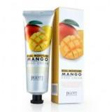 Увлажняющий крем для рук с маслом манго JIGOTT Real Moisture Mango Hand Cream 100мл