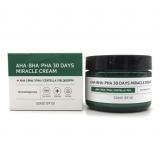 Крем с кислотами Some By Mi AHA-BHA-PHA 30 Days Miracle Cream 60мл