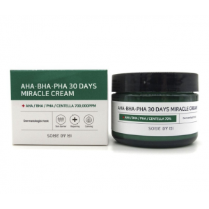Крем с кислотами Some By Mi AHA-BHA-PHA 30 Days Miracle Cream